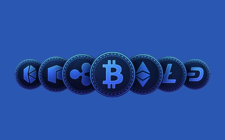 Cryptocurrency title banner