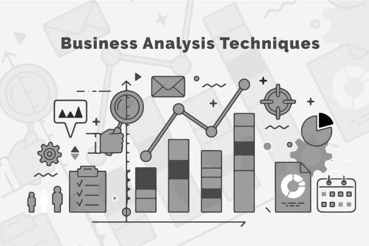 8 Most Popular Business Analysis Techniques used by Business Analyst title banner