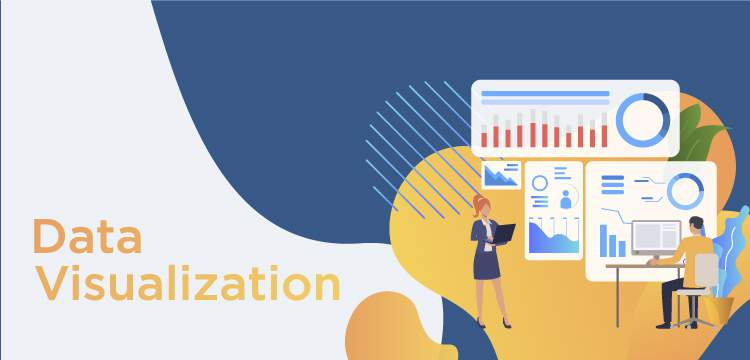 5 Common Types of Data Visualization title banner