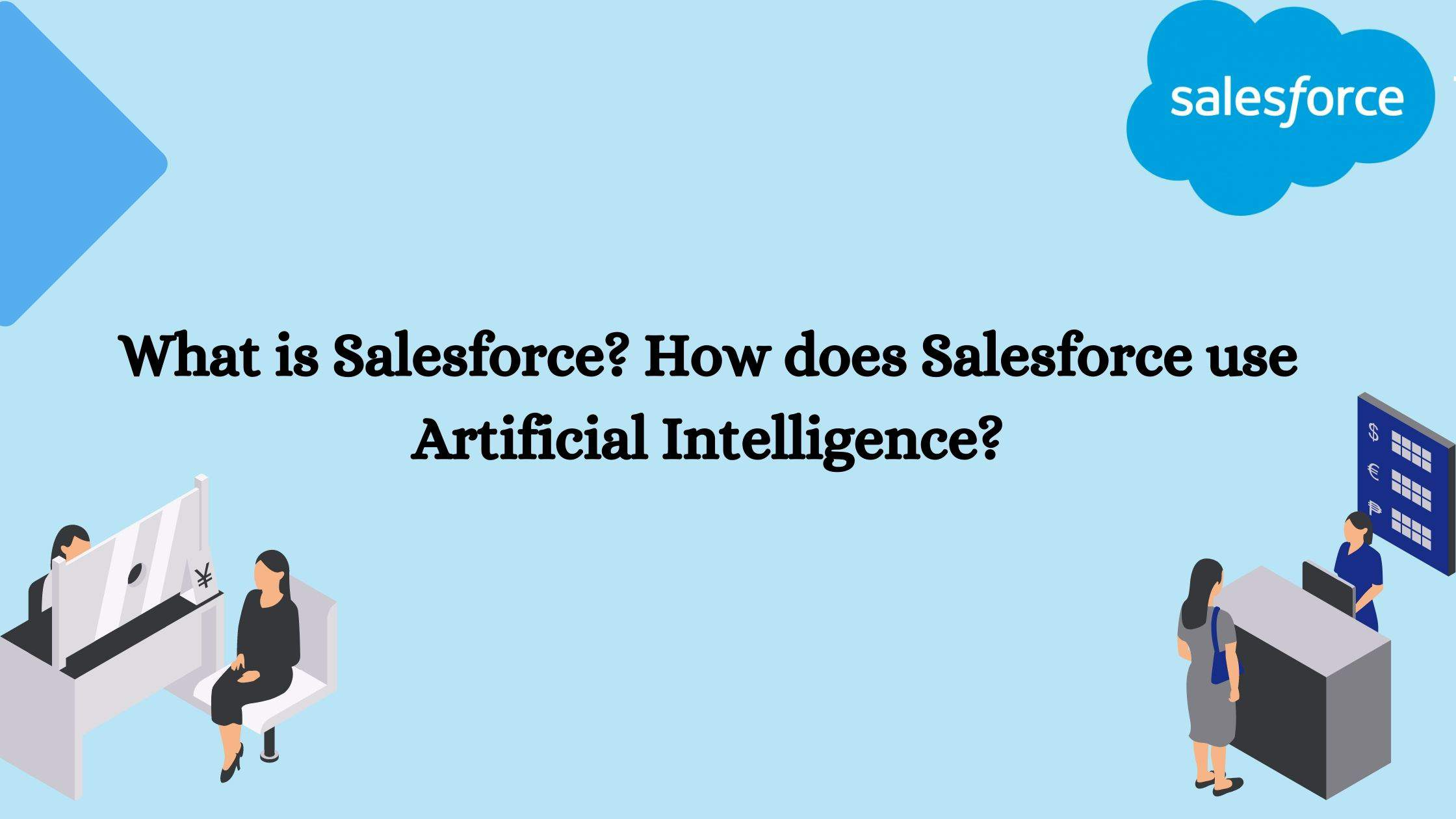 How does Salesforce Use Artificial Intelligence? title banner
