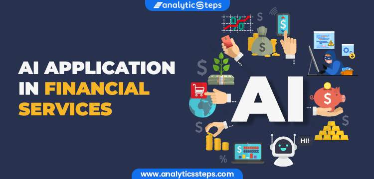 AI Applications in financial services title banner