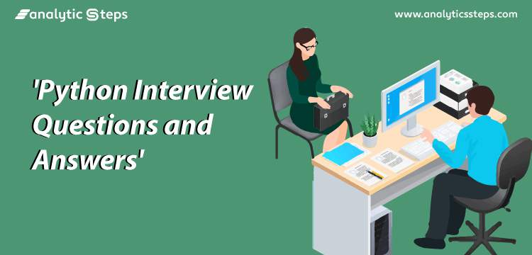 20 Python Interview Questions in Data Science title banner