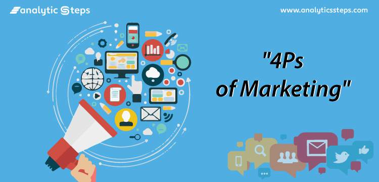 The 4Ps of Marketing: Product, Price, Place, and Promotion title banner