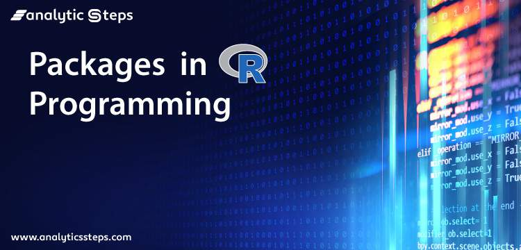 Packages in R Programming title banner